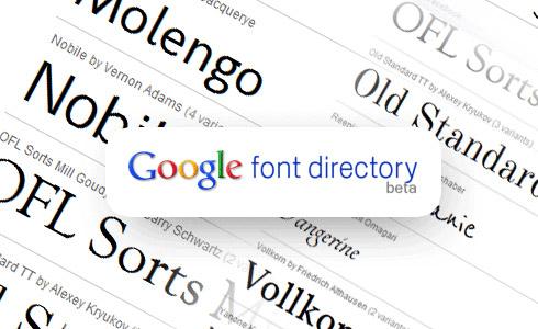 fuentes web con Google Fonts API