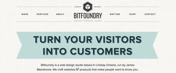 Diseño web estilo retro