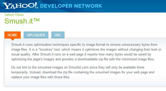 Smush it compresor de imágenes