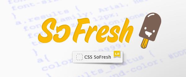 SoFresh, actualiza código CSS