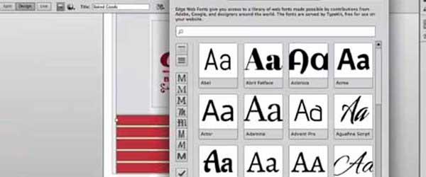 Adobe Web Edge en Dreamweaver CC