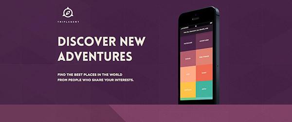 Página web con diseño Flat Design