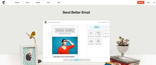 Mailchimp adopta el Flat Design