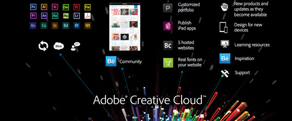 Programas en Creative Cloud