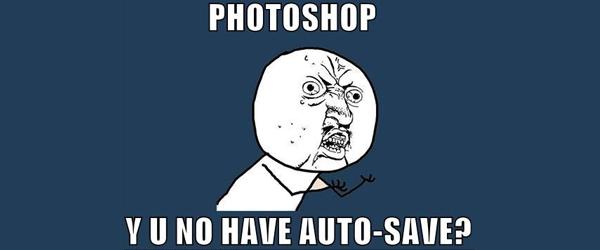 Auto guardar Photoshop