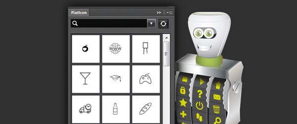 Plugin Flaticons, iconos en tu Photoshop